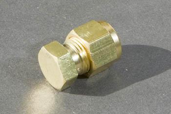 Brass Misting Line Cap