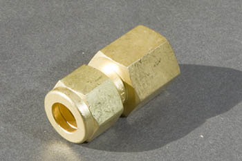 Brass Misting Line Female Connector