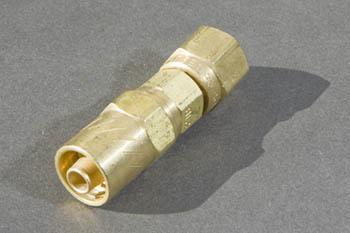 Brass Reusable Hose Fitting - Female Swivel